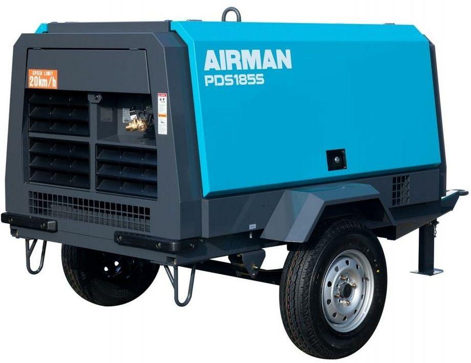 Компрессор AIRMAN PDS185SC-W на шасси