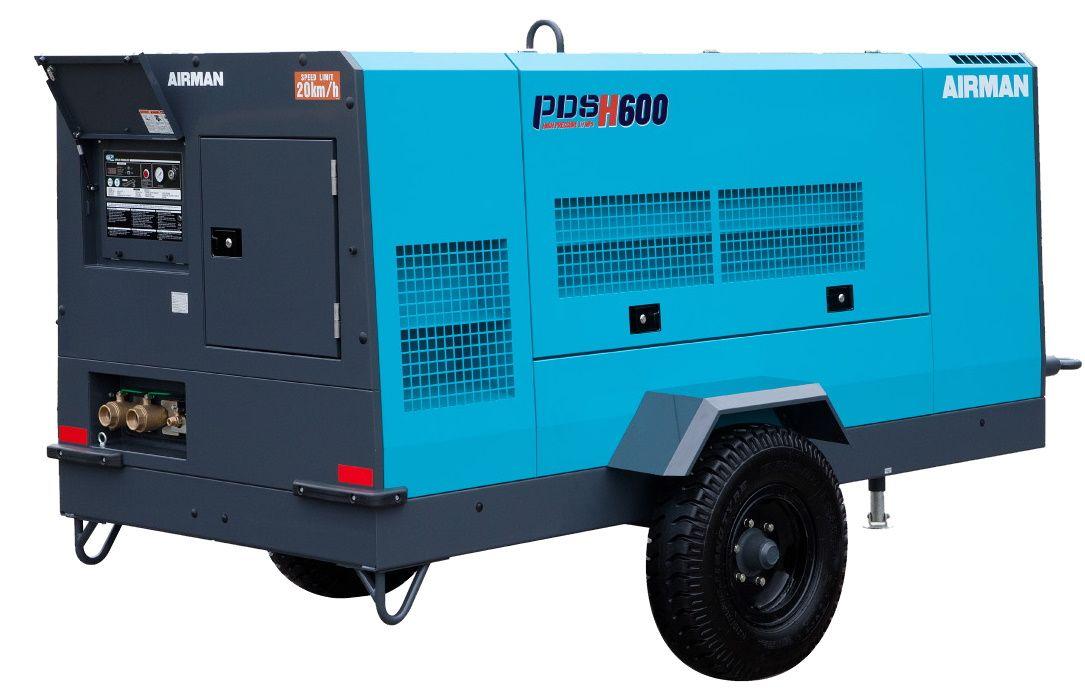 Компрессор AIRMAN PDSH600S-W на шасси