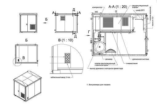 Модульные компрессорные станции