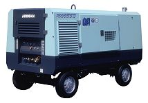 Компрессор AIRMAN PDS655SD-W на шасси