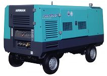 Компрессор AIRMAN PDS750S-W на шасси